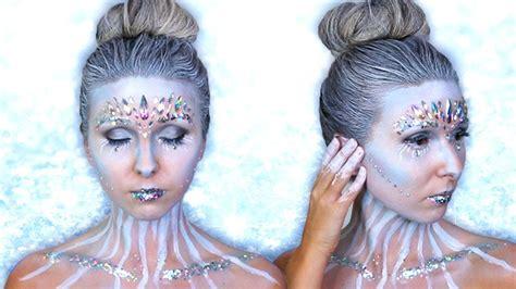makeup tutorial snow queen snow queen halloween makeup tutorial kristen mcgowan