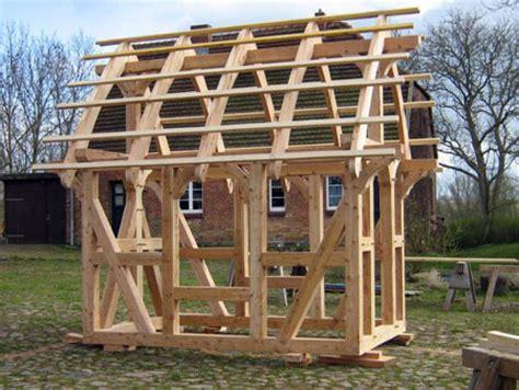 Gartenhaus Fachwerk Bausatz by Fachwerkhaus Herrmanshagen