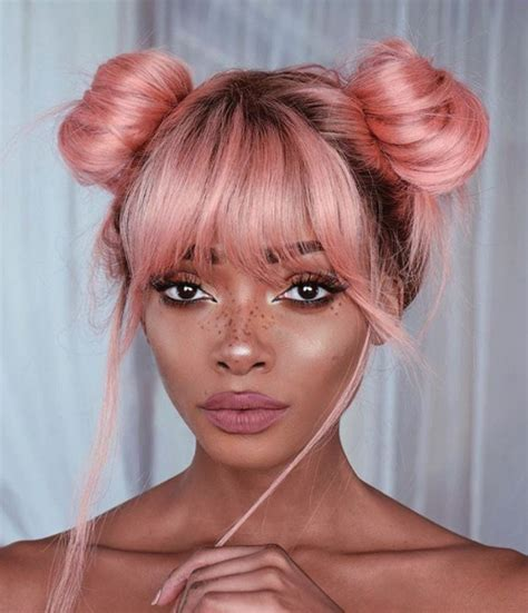 hairstyles with pastel colours instafeature is pastel pink hair the new blonde