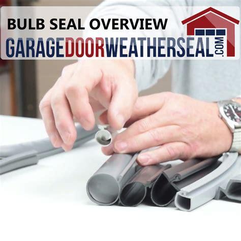 bulb style seals archives garage door weather seal