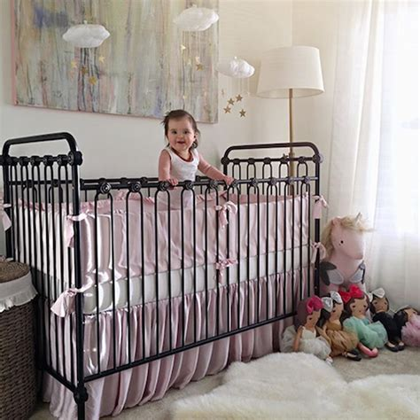 distressed baby cribs baby crib distressed black
