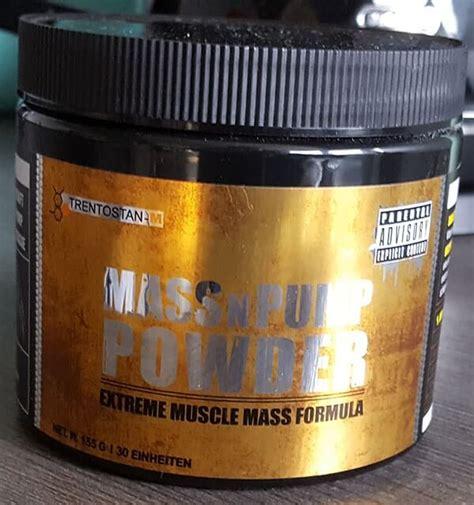 m protein test trentostan m massnpump powder im test