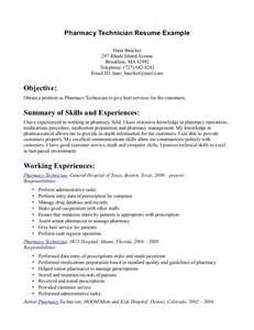 Registered Pharmacy Technician Sle Resume Pharmacy Technician Resume Sle Pharmacy Technician