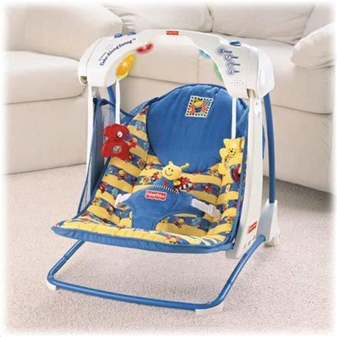 fisher price take along swing fisher price deluxe take along swing price review and buy