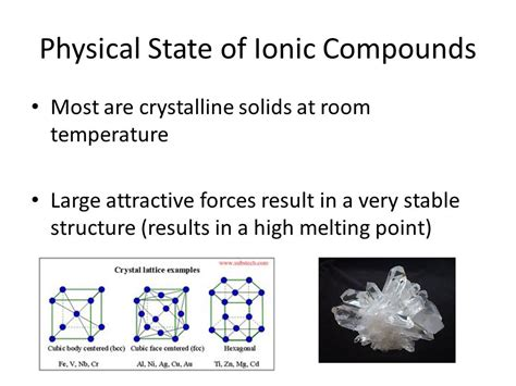 how is formula at room temp properties of ionic and covalent compounds ppt