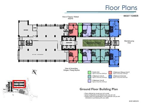 lumiere floor plan lumiere residences shaw pasig dmci homes online