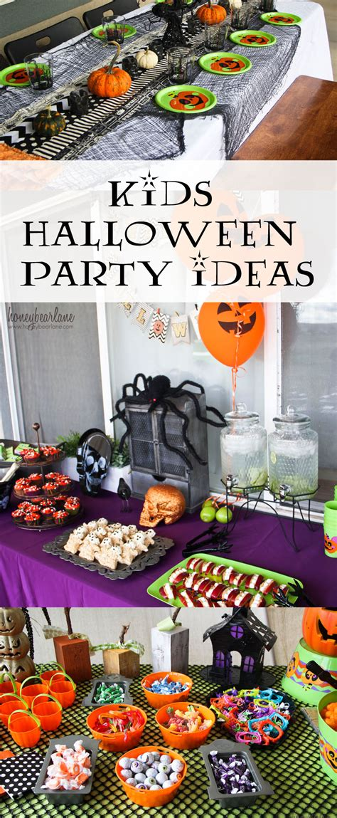 halloween party ideas kids halloween party ideas honeybear lane
