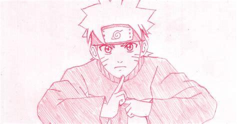 tutorial gambar anime naruto cara menggambar naruto uzumaki manga council