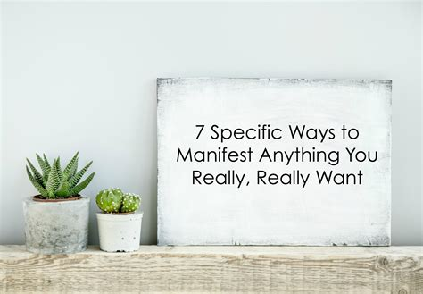 7 Ways To Get What You Really Want In Bed by 7 Specific Ways To Manifest Anything You Really Really