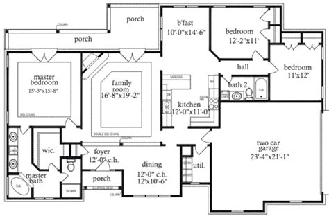 1910 house plans mediterranean style house plan 3 beds 2 baths 1910 sq ft