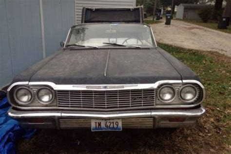 1964 impala convertible craigslist 1964 impala convertible only a rust