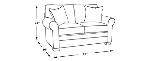 love seat size standard loveseat dimensions picking the ideal loveseat size
