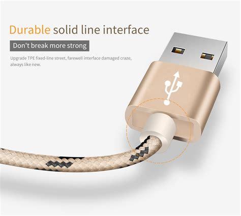 Kabel Usb Untuk Charger bastec kabel charger usb type c 0 5 meter gray