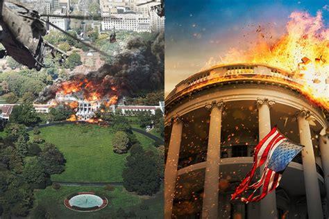 olympus has fallen vs white house down white house down vs la chute de la maison blanche le match screenreview