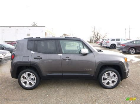 granite jeep renegade granite crystal metallic 2016 jeep renegade limited 4x4