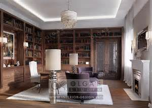 Interior Design Home Study Interior Design Of A Study Photos And 3d Visualisations