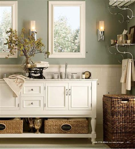 Pottery Barn Bathroom Ideas by Pottery Barn For My Potty Barn Pottery Barn Wall