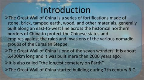 Ppt On The Great Wall Of China And Temple Of Heaven Great Wall Of China Powerpoint