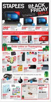 black friday 2017 deal staples black friday 2017 ads deals and sales