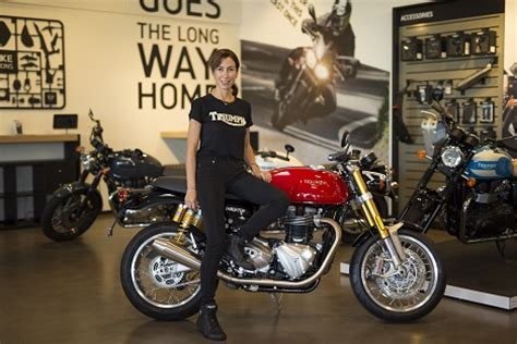 Motorrad Triumph Deutschland by Triumph Motorrad Mit Neuer Deutschland Chefin