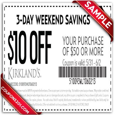 kirkland home decor coupons kirklands printable coupon december 2016