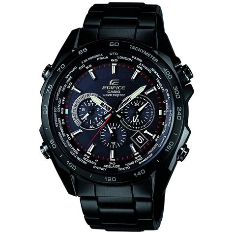 Edifice Casio Stainless casio eqw m600dc 1aer s edifice black stainless steel