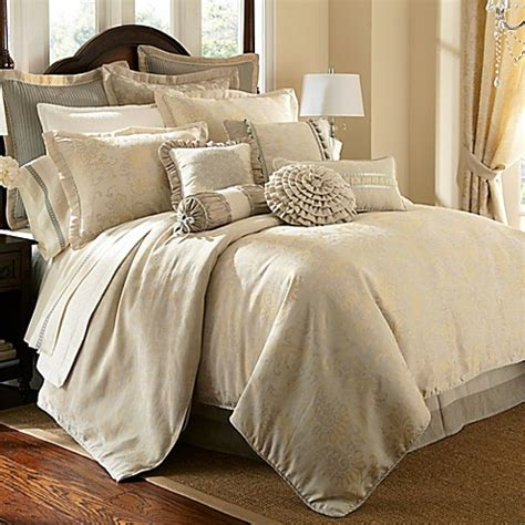 bed bath and beyond waterford buy waterford 174 linens lysander reversible queen duvet cover from bed bath beyond