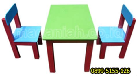 Meja Kursi Anak Tk Meja Dan Kursi Anak Untuk Paud Dan Tk Madaniah