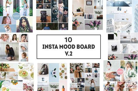 fashion mood board template 10 insta mood board templates v 2 instagram templates