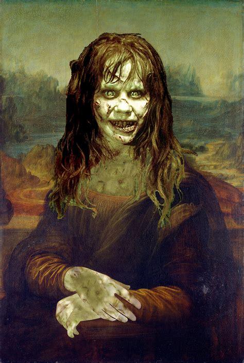 painting mona mona by leonardo da vinci photo 34373132