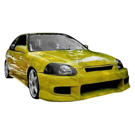 1999 honda civic front bumper vis racing 174 honda civic 1999 2000 tracer style