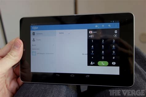 skype for android tablet skype update for android adds tablet ui the verge