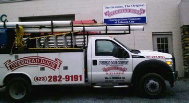about overhead door company of johnson city tennessee