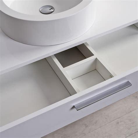 bathroom wall with drawers the edge luxury milano stone bathroom vanity wall