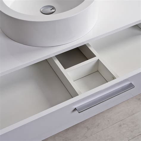 Wall Mounted Drawer. Top Floating Wall Mounted Nightstand