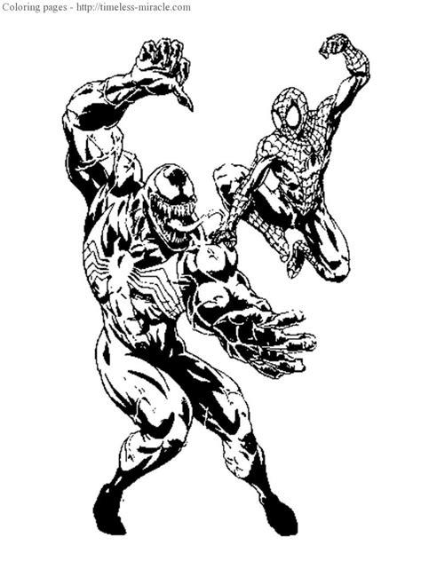 Vs Venom Coloring Pages Spiderman Vs Venom Coloring Pages Timeless Miracle Com by Vs Venom Coloring Pages