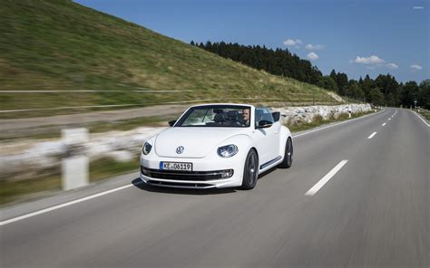 volkswagen white car 2014 white abt volkswagen beetle cabrio wallpaper car