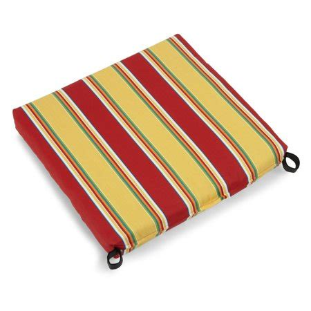 19 X 20 Patio Chair Cushions by Blazing Needles 19 X 20 In Outdoor Chair Cushions Set