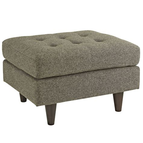 ottoman upholstered empress upholstered ottoman with button tufted accents