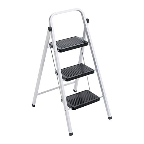 Folding Step Stool For by Louisville 3 Step Steel Folding Step Stool At Hayneedle
