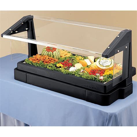 buffet sneeze guard cambro black 4ft table top buffet bar with sneeze guard bbr480 110