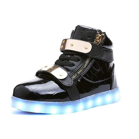 Led Shoes Black led shoes black buckle
