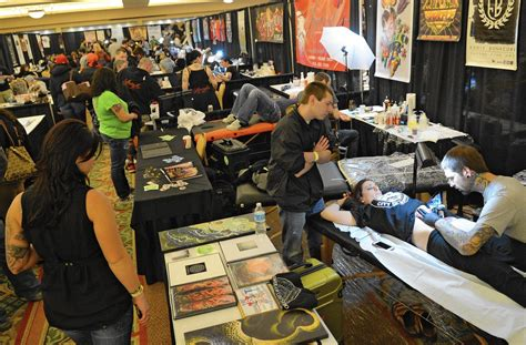 tattoo convention booth skindustry lehigh valley tattoo expo expands to sands