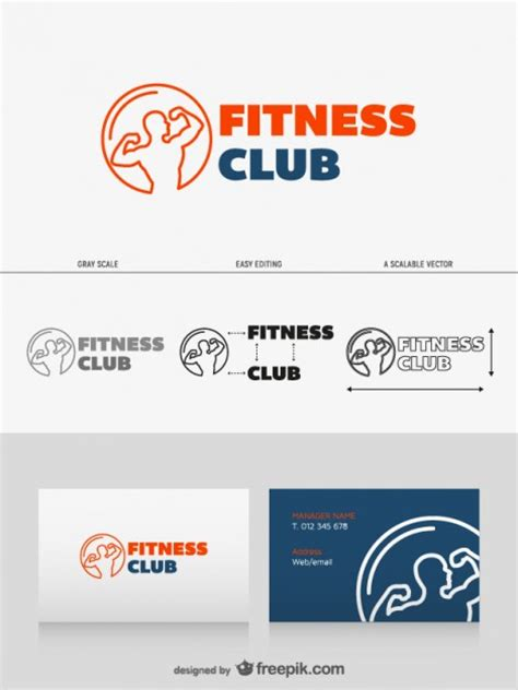 gym layout design software free download logo design fitness club vector free download