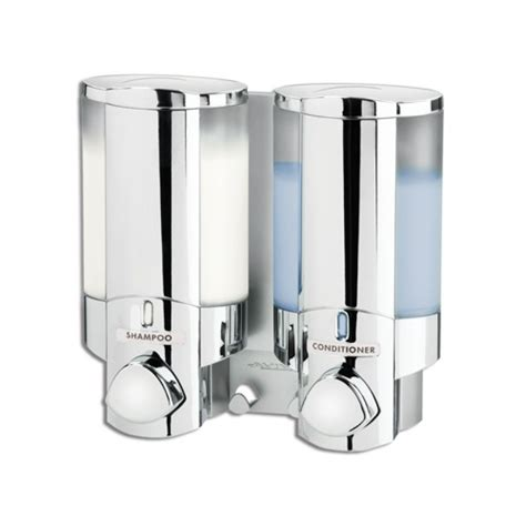 bathroom dispenser double soap sanitizer liquid dispenser lotion pump wall