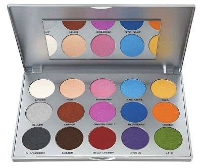 Eyeshadow Viva Seri D kryolan viva brilliant color medley palette review make