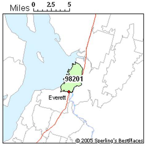 zip code map everett wa best place to live in everett zip 98201 washington