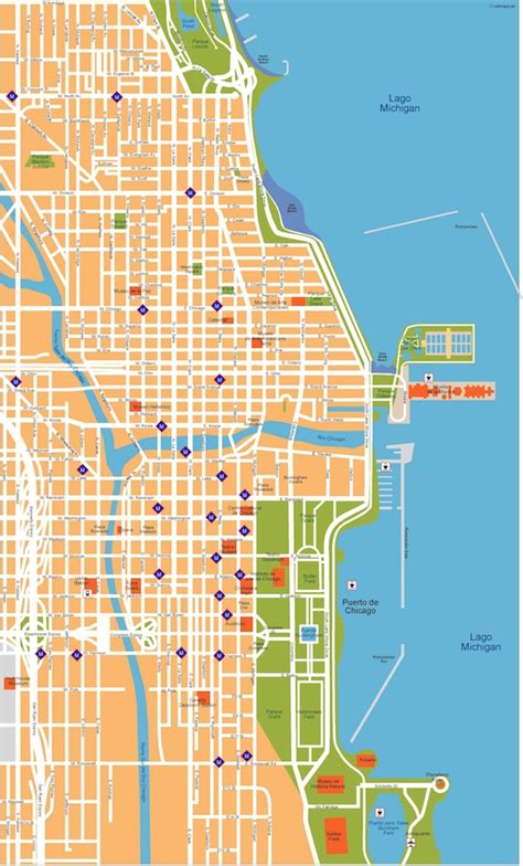 chicago map illustration chicago vector map eps illustrator vector city maps usa