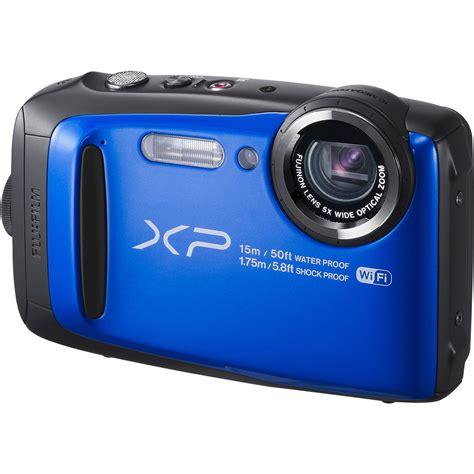 fuji finepix digital fujifilm finepix xp90 digital blue 16500076 b h photo