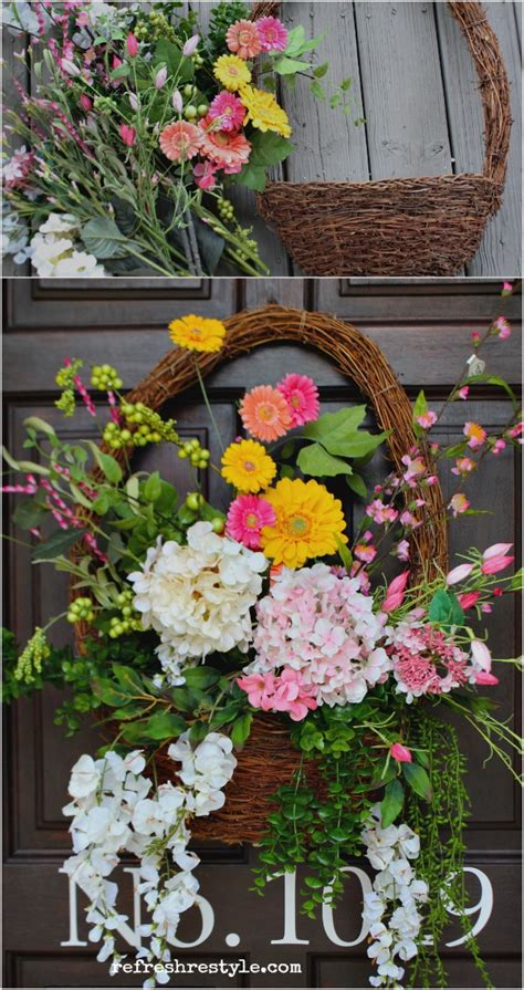 ten inspiring spring wreaths   home hymns  verses